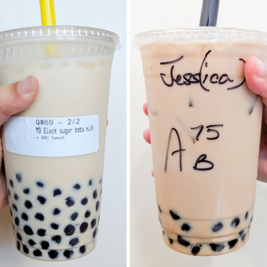 Drive Thru Boba vs Young Tea
